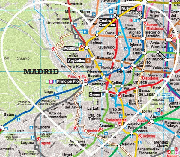 1. MADRID Actual Size Image