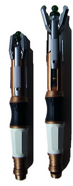 11th doctor's sonic screwdriver  Actual Size Image
