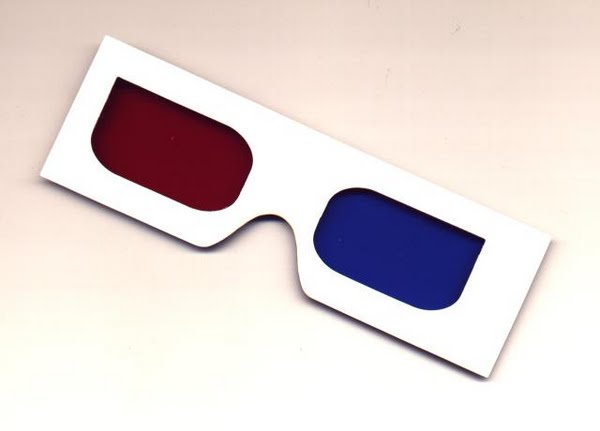3d glasses Actual Size Image
