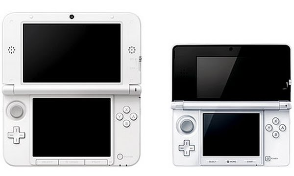 3ds xl open size Actual Size Image