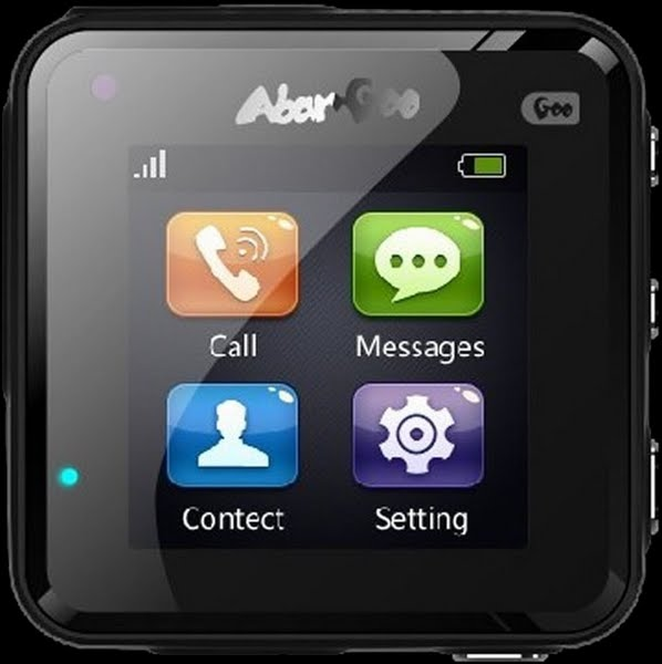 Abargoo android watch Actual Size Image