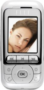 Alcatel ELLE GlamPhone Actual Size Image