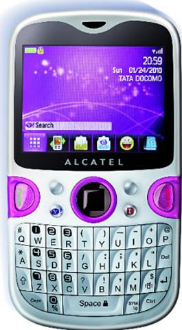 Alcatel One Touch Net Actual Size Image