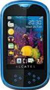 Alcatel OT-708 One Touch MINI Actual Size Image