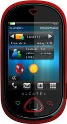 Alcatel OT-909 One Touch MAX Actual Size Image