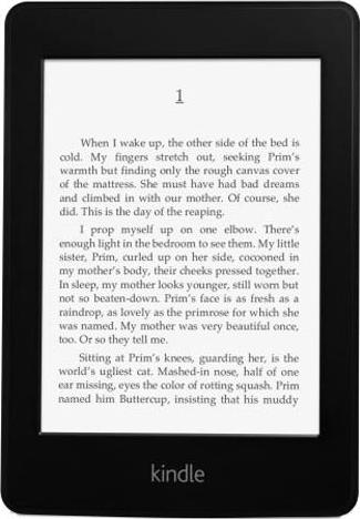 Amazon Kindle Paperwhite Actual Size Image