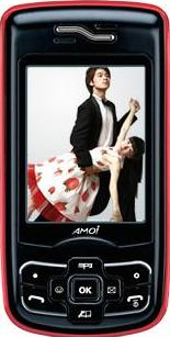 Amoi A675 Actual Size Image