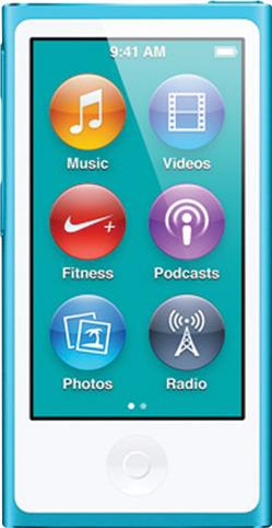 Apple iPod nano (7th generation) Actual Size Image