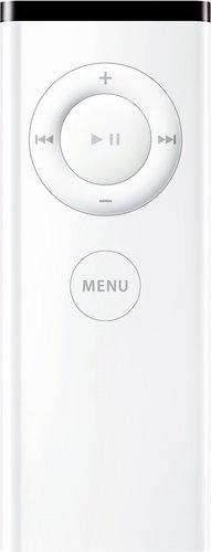 Apple Remote - Infrared (IR) for Mac Actual Size Image