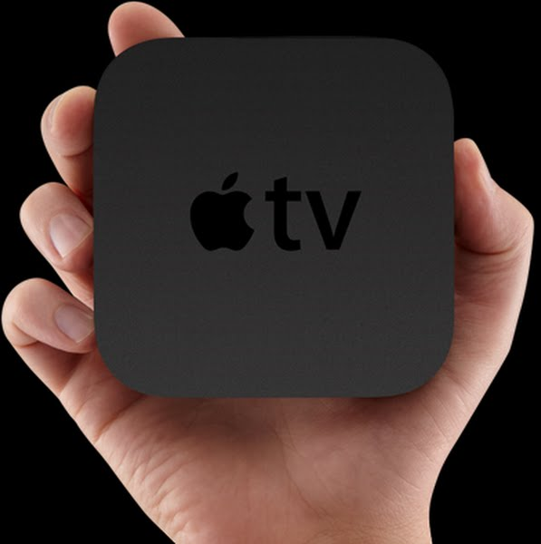 Apple TV (2) Actual Size Image