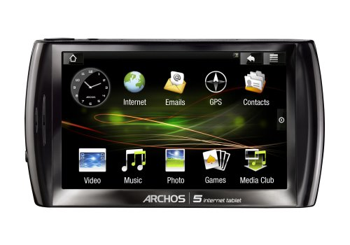 Archos 5 Android Actual Size Image