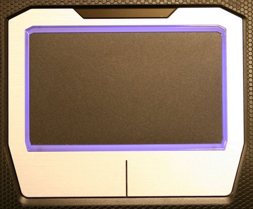 Asus G50V-A1 Touchpad Actual Size Image