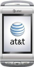 AT&T Quickfire Phone Actual Size Image