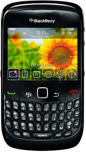 blackberry 8520 Actual Size Image