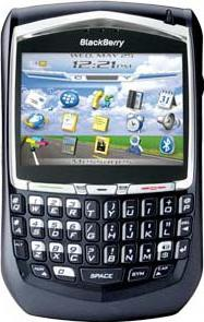 BlackBerry 8700g Actual Size Image