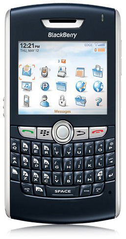 Blackberry 8800 Actual Size Image
