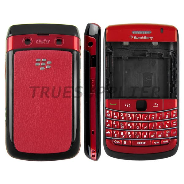 Blackberry bold 9700 housing Actual Size Image