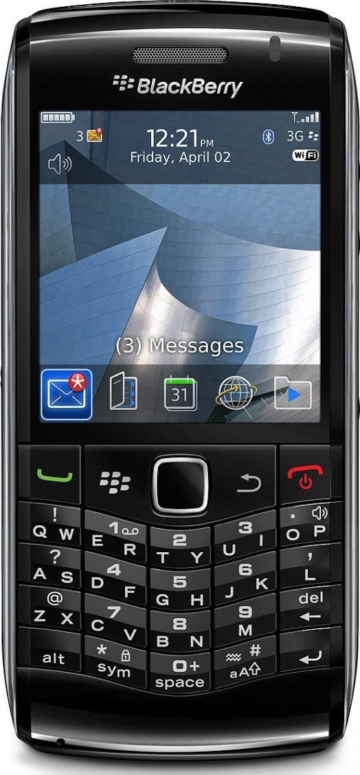 BlackBerry Pearl 3G 9100 Actual Size Image