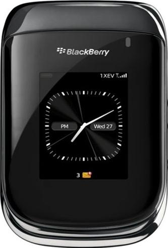 BlackBerry Style 9670 Actual Size Image