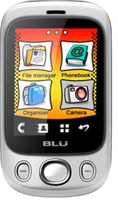 BLU Spark S120 Actual Size Image