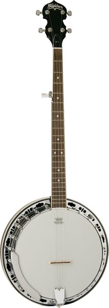 Bluegrass Banjo Actual Size Image
