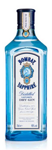 Bombay Sapphire drink Actual Size Image