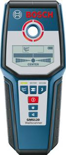 Bosch 120mm Digital Wall Scanner Actual Size Image