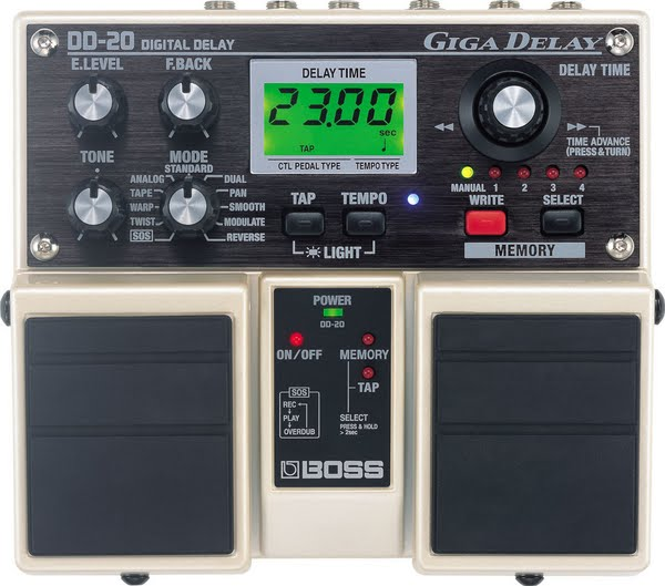 Boss dd-20 Actual Size Image