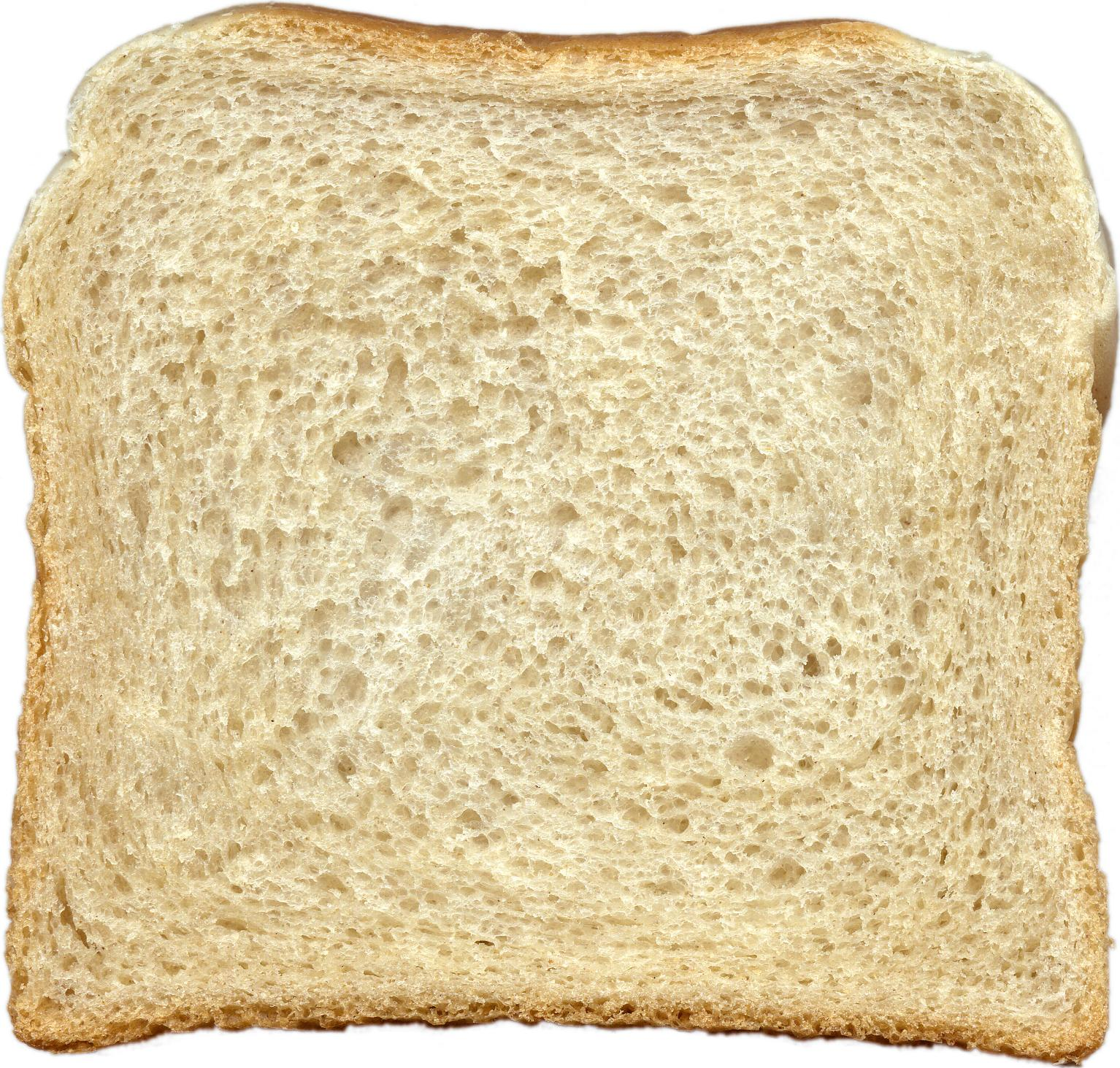 Bread slice Actual Size Image