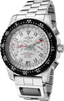 Breitling Men's Professional Automatic Mechanical Chrono Actual Size Image