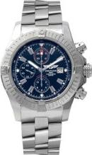Breitling Super Avenger Chronograph Mens Watch Actual Size Image