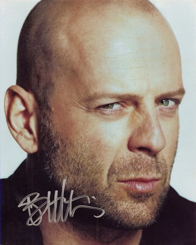 Bruce willis Actual Size Image