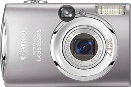 Canon Digital IXUS 850 IS Actual Size Image