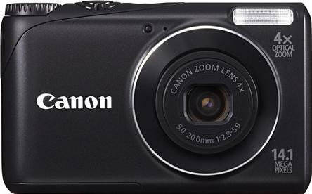 Canon PowerShot A2200 Actual Size Image