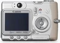 Canon PowerShot A510 Actual Size Image
