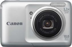 Canon PowerShot A800 Actual Size Image