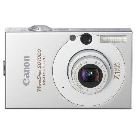 Canon PowerShot SD1000 Actual Size Image