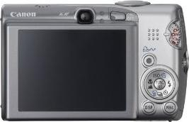 Canon PowerShot SD850 Actual Size Image