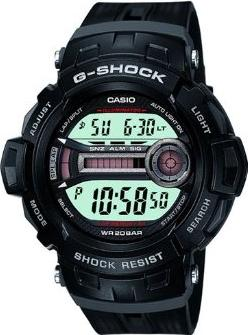 Casio G-Shock GD-200-1 Actual Size Image