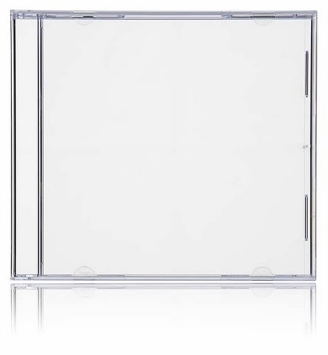 CD Case Actual Size Image
