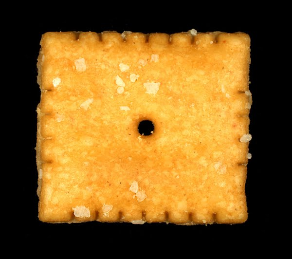 Cheez-It cracker Actual Size Image
