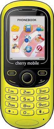 Cherry Mobile C2 Actual Size Image