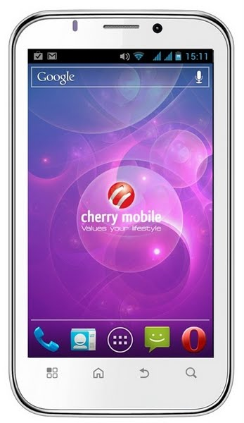 Cherry Mobile Cruize Actual Size Image