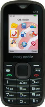 Cherry Mobile D14 Actual Size Image