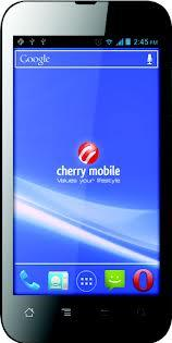 Cherry Mobile Flare Actual Size Image