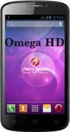 Cherry Mobile Omega HD Actual Size Image