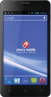 Cherry Mobile W500 Titan Actual Size Image