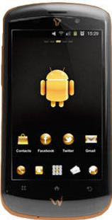 Cherry Mobile W900 Actual Size Image