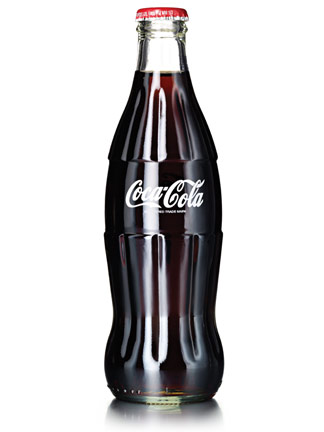 coca cola bottle Actual Size Image
