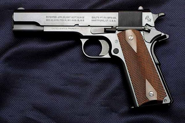 Colt 45. M1911 migit version Actual Size Image
